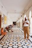 Sikh man prays - Amritsar