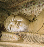 Mogao Grotto Relaxed Buddah 16 Meters Long
