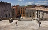 Gerona, Plaza de la Catedral
