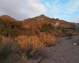 Organ Mountains along the Soledad Canyon trail