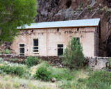 Historic ruins at Dripping Springs in Organ Mountains