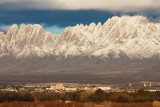 Organ Mountains over Las Cruces, NM