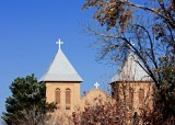 St. Albino's in Mesilla, NM  (rebuilt in early 1900s)