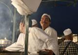 Place Jemaa el-Fna -- open air food stalls