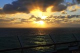 Sunset from Navigator of the Seas
