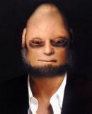 George-UpsideDown