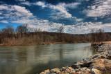 Hoosic River in HDRApril 4, 2010