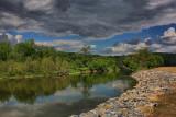 Hoosic River in HDRMay 23, 2010