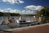 Sailboat on Erie Canal