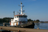 Winter ferry boat to Landsort