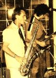 Manolo Monster (Saxo) & Mr. Ruben (Guitar)