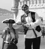 My friend Josefina and Jack Sparrow (LOL)