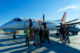 Eznis Airways is a relatively new airline in Mongolia, and we flew their modern turboprops everywhere we went