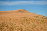 The Traveling Dunes, one of the areas of sand dunes in the Southern Gobi