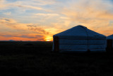 Southern Gobi Sunset