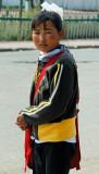 Young Mongolian girl in Murun