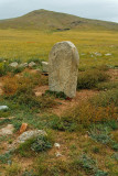 These deer stones near Lake Erkhel appear to be seldom visited by tourists