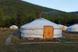 Hangard Ger Camp, on the southwest shore of Lake Khuvsgul