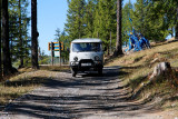 A Russian-made 4wd minivan was our transportation around Lake Khuvsgul