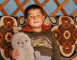 Young Mongolian boy near Khatgal