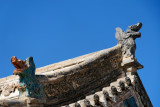 Dragons on a temple roof, Erdene Zuu Monestary