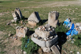Stones from the ancient capital of Chinggis Khaan, Erdene Zuu Monestary