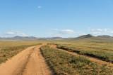 Road into Hustai