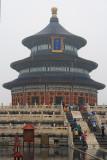 Temple of Prayer for Good Harvest, in the rain