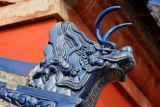 Dragon detail on a wall, Temple of Heaven Park