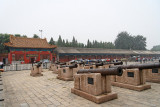 Canons inside the Forbidden City