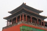 Tower on Meridian Gate, Forbidden City