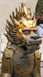 Lion statue, Forbidden City