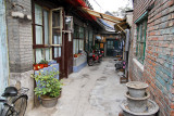 Narrow alley in a Beijing Hutong