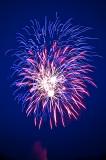 Fireworks on Lake Montclair