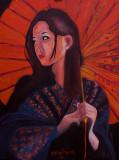 芸者 Red Umbrella