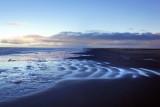 Cold blue sea