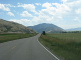 On the way to Yellowstone
