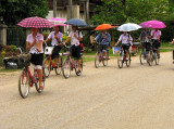 Riding in Northern Laos
