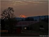 MOUNT ST. HELENS AT SUNRISE
