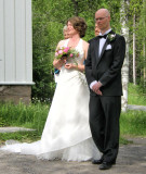 Kirsti og Frodes bryllyp