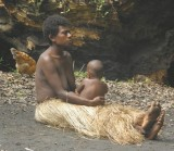 Yakel woman with child