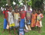 Kids from the Pangi school