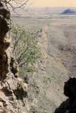 View down the Kapsiki