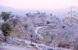 Kirdi Village at Sunset