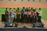 With the University of Bangui Chorale