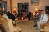 Discussing Music with the Ministers