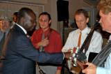 President Congratulates the Band