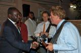 President Congratulates the Band II