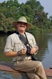 Jungle Bob Perilla on the Lobaye River