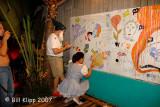 Fantasy Fest  Burlesque Mural Party 5